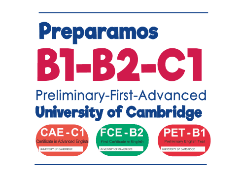 Preparamos exámenes Cambridge B1 B2 C1